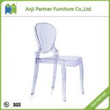 中国の工場白い透過パソコンの物質的な食堂の椅子(Constance)