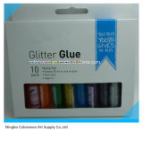 colagem do Glitter de 10*10.5ml 3D para DIY e creativo