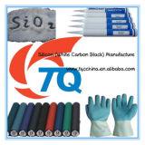 Silicona de la silicona Alto-Reforzada y de la multa estupenda y negro de carbón blanco y silicona precipitada