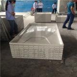 Absolvent-Fiberglas-obenliegende Wasser-Becken mit Hochleistungs-