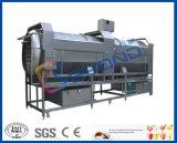 Rollentrommel mit Bürstenwaschmaschine