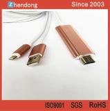 HDMI HDTV 접합기에 이동 전화