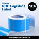 Перезаписывающийся стикер снабжения UHF бумажный RFID для инвентаря