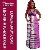 Signora floreale vestiti casuali (L51329) dei vestiti del vestito da modo maxi
