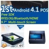 Jepower T508A (Q) Quad-Core Andriod POS Terminal avec WiFi / Bt / RFID / NFC / IC et Ms Card Reader / Psam