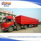 Vulcan passte der 3 Wellen-Kasten-LKW-Behälter-Transport-Ladung-Schlussteil an