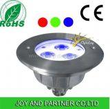 lumière sous-marine de syndicat de prix ferme de 3W DEL avec l'homologation de la CE (JP94631-AS)