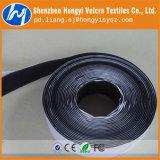 Nastro appiccicoso delle iarde nere adesive all'ingrosso del Velcro