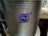 Веревочка провода 304 1X19-5mm нержавеющей стали