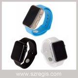 """1.44 """" teléfonos móviles Bluetooth del deporte Gu08 del reloj elegante de Digitaces"""