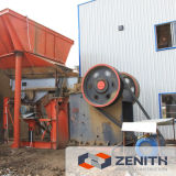 Large Capacity를 가진 천정점 Jaw Crushing Machine