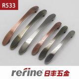 Pull en alliage de zinc Handle pour Kitchen Cabinet (R-533)