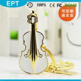 Movimentação dada forma do flash do USB do melhor vendedor violino feito sob encomenda