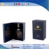 PU-lederner einzelner Flaschen-Bildschirmanzeige-Wein-Kasten (6694)