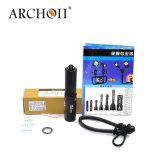 Archon V10sの水中軽い最大860の内腔の潜水の懐中電燈