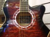 Guitare acoustique de 40 po avec nu-dessus