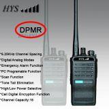 Frequenza ultraelevata Dpmr Portable Digital Walkie Talkie di VHF di Tc-818dp 5W Powerful
