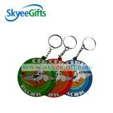 Keychain promocional suave del diseño del PVC 3D Keychain nuevo