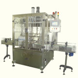 Fábrica Price Linear Liquid Bottling Machine com Rotor Pump Filling