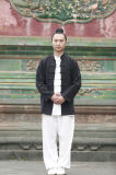 Wudang Kongfu Taichi 고급 Flax 남자의 스포츠 아늑한 편한 의복
