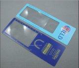 Magnifier barato do cartão do PVC do preço com endereço da Internet (HW-806)