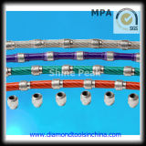10.5mm Diamond Wire Saw per Reinforced Concrete, Stone Steel, Granite, Marble, Shipwrecks,