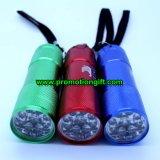 알루미늄 9 LED 플래쉬 등