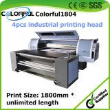 Принтер Inkjet многофункционального пояса Uvip Ricoh роторного UV