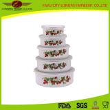 Bacia pequena do alimento do esmalte da compra em linha de China