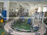 Liquid de bonne qualité Bottling Machine avec Capping Labeling Line (GHAPL-CL)