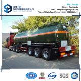 54000 L 3 Specificatie van de Aanhangwagen van de Tank van de Brandstof van de Olietanker van Assen De Semi