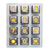 Tastaturblock-Vorhängeschloss-Zugriffssteuerung-Tastaturblock-industrieller Tastaturblock-industrieller Tastaturblock mit 12keys K2