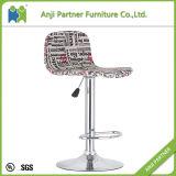 고품질 고아한 공상 합판 시트 포도 수확 직물 의자 의자 (Ramasoon)