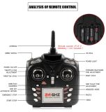 259506g-2.4GHz 4 채널 6 축선 자이로컴퍼스 Quadcopter RTF