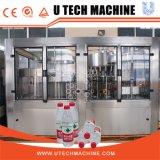Água de beber automática Rinsing Filling Cappping Machine / Production Equipment