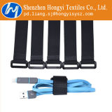 Ataduras de cables ajustables del gancho de leva y del Velcro del bucle