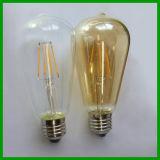 Nuovo filamento St64 LED di 85-265V 6W LED