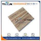Tuile en bois de panneau de plafond de PVC de grain