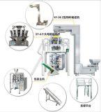 10 pistas automáticas que pesan la máquina irregular del conjunto del alimento de los materiales del gránulo (XY-90BSD)