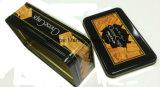 Прямоугольная коробка олова в еде змейки сыра упаковки хрустящей