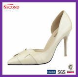Signora cachi Shoes del cuoio genuino