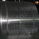1050 1060 1100 3003 5052 5083 Aluminium Checker Sheet für Plattform /Bus Floor/Travel Trailer