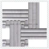 Белая мраморный мозаика 3D для плитки стены