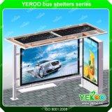 Straßen-bekanntmachender Bus-Solarschutz mit Stuhl