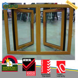 Finestra di apertura standard del doppio della finestra della stoffa per tendine del PVC dell'Australia