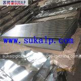 Feuille ondulée de toiture en métal
