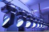 108X3w RGBW LED 이동하는 맨 위 단계 점화