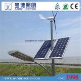 réverbères hybrides de vent solaire de 70W LED
