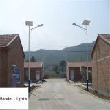 Baode Lights 6m Pool 30W LED Solar Powered Street Light