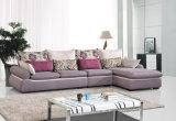 普及した3 Seaterの居間の家具ファブリックソファーセット
